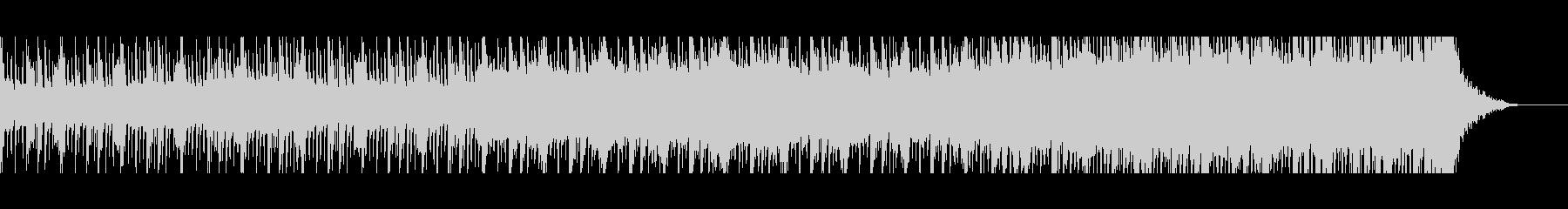 シンセメインのEDM系サウンドです。の未再生の波形