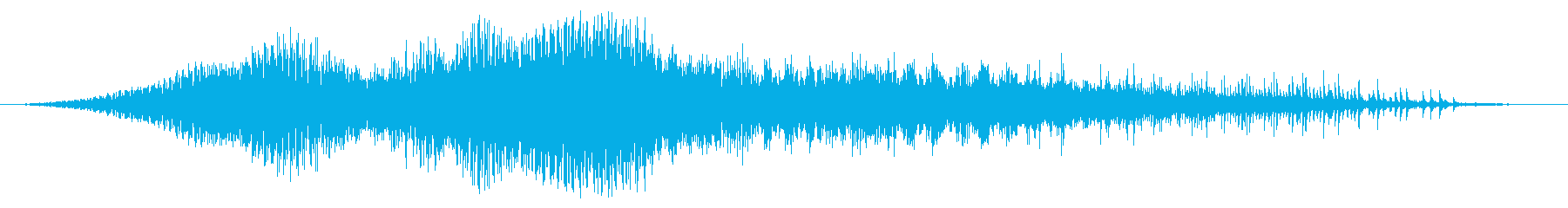 複葉機:内線:タクシー速度での進入...の再生済みの波形