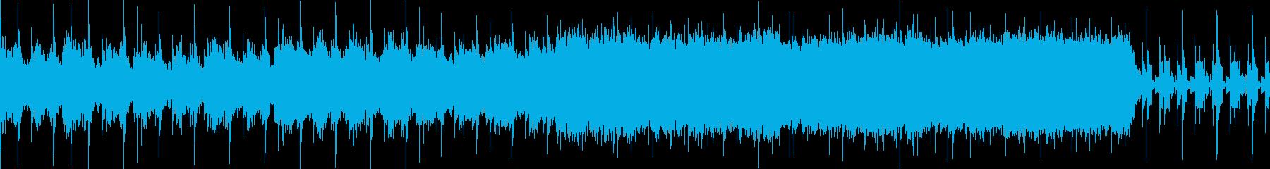 悪い予感を思わせるループ音源です。の再生済みの波形