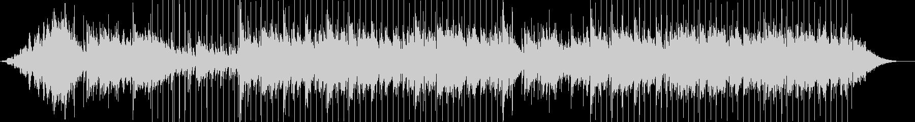 鳥の音と合唱ボーカルのサンプルを含...の未再生の波形