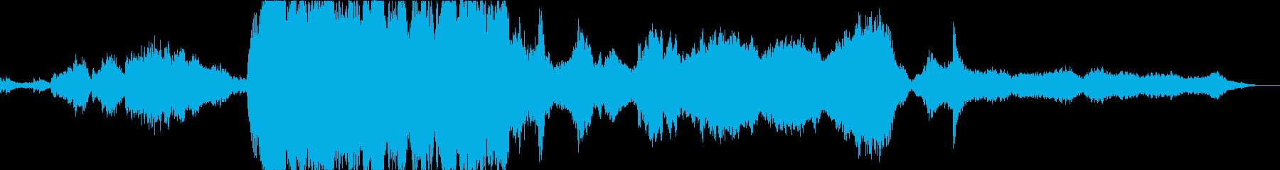 王道的な映画音楽オーケストラの再生済みの波形