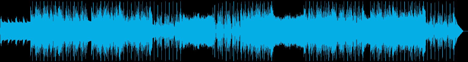 寂しげな荒涼感のCHILL系HIPHOPの再生済みの波形