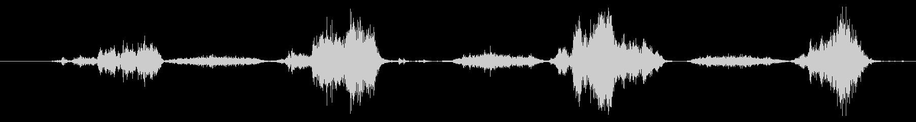 擬音 ハンドソーウッド03の未再生の波形