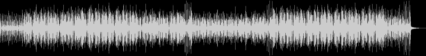 渋くておしゃれなジャズBGMの未再生の波形