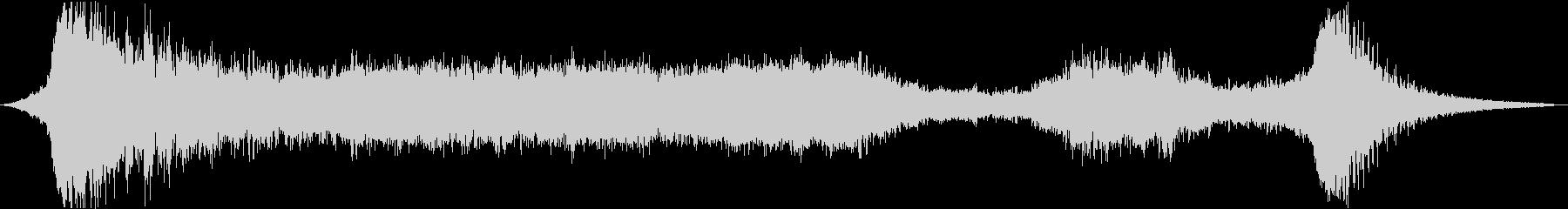 【ホラー】 シーン 「凛音」の未再生の波形