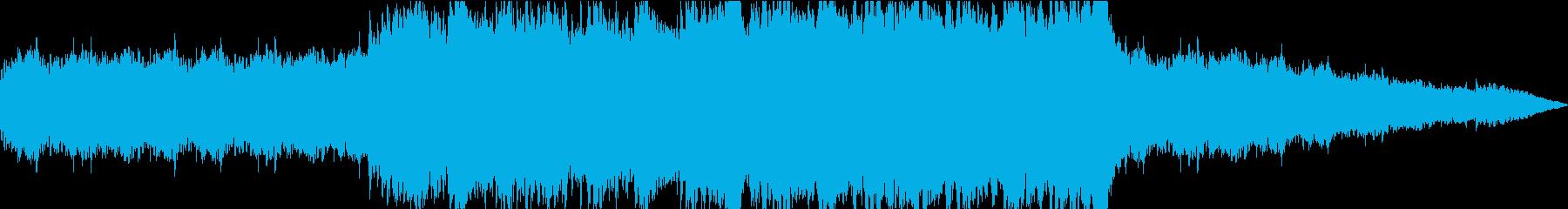 心が震えるBGMの再生済みの波形