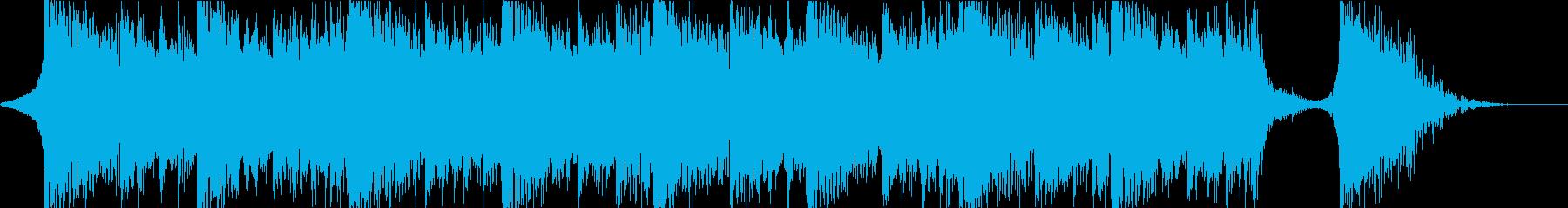 シネマティクオーケストラ・切なくて重厚の再生済みの波形