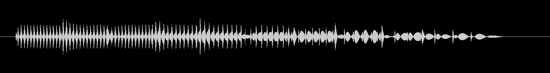 【ファミコン風】チープなシステム音の未再生の波形