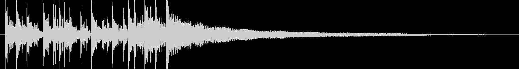VP・CM アコギのカッティングBGMの未再生の波形