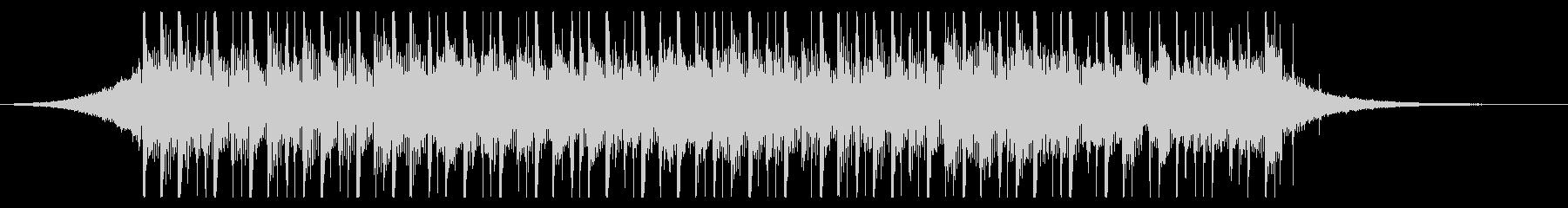 ビルドアップ(24秒)の未再生の波形