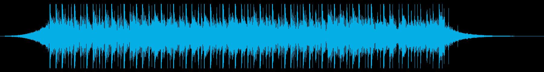 ビルドアップ(24秒)の再生済みの波形