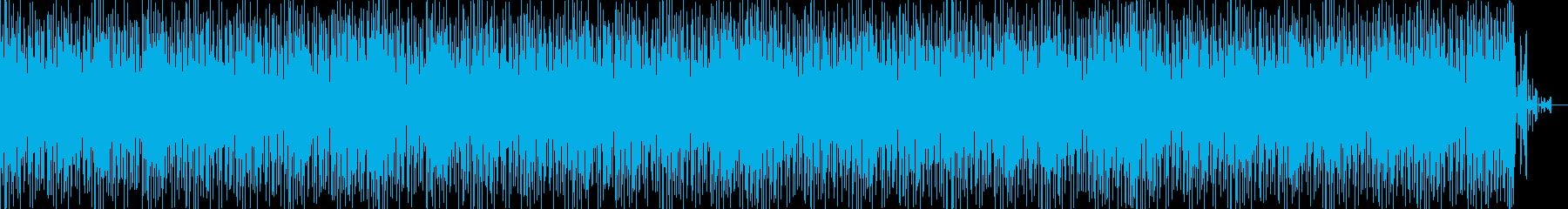 無機質なハウス ニュース原稿読みBGMにの再生済みの波形