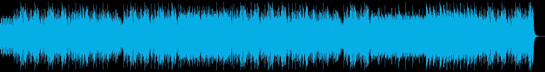 明るく楽しいキッズピアノ:ピアノと弦のみの再生済みの波形