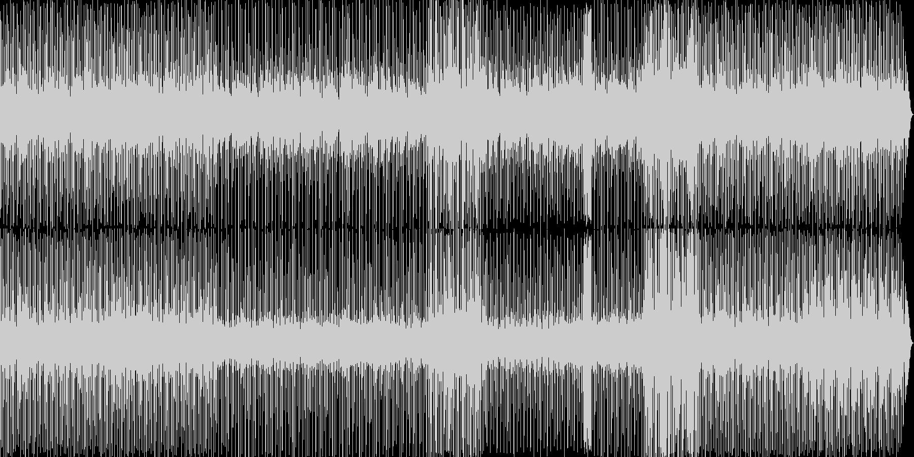 ゲーム風の音楽ですの未再生の波形