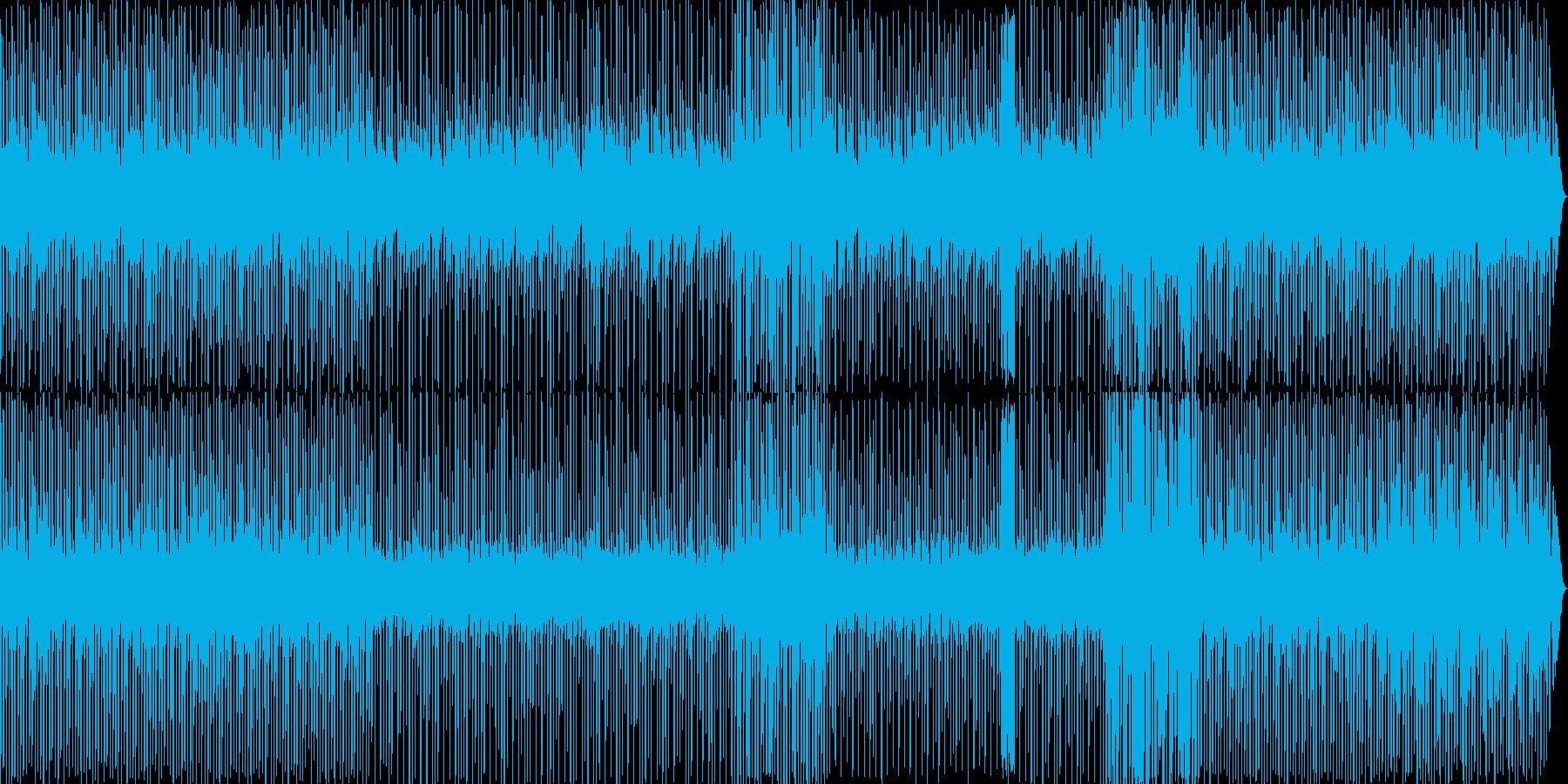 ゲーム風の音楽ですの再生済みの波形