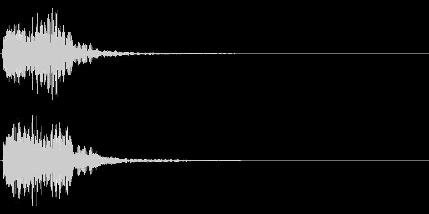 キラリン音A6 2音色×8フレーズの未再生の波形