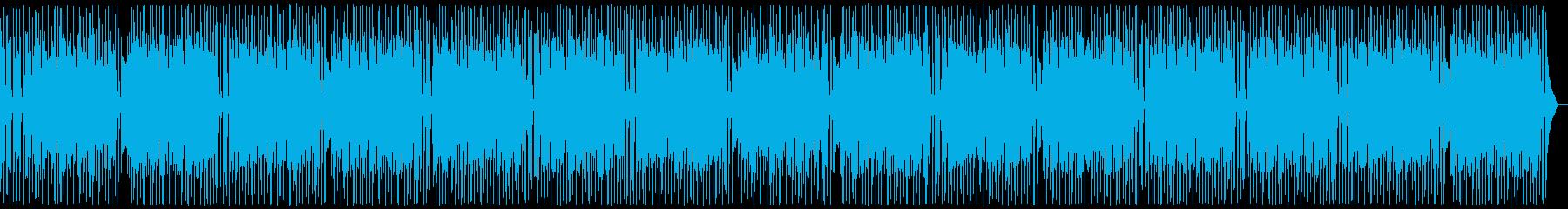 楽しいピアノラグタイム・料理:フル2回の再生済みの波形