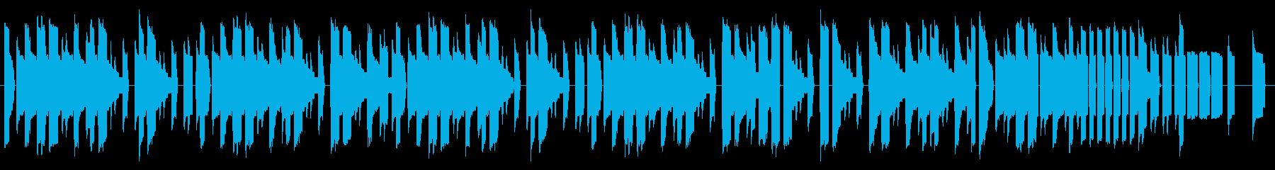 NES レース A01-1(タイトル)の再生済みの波形