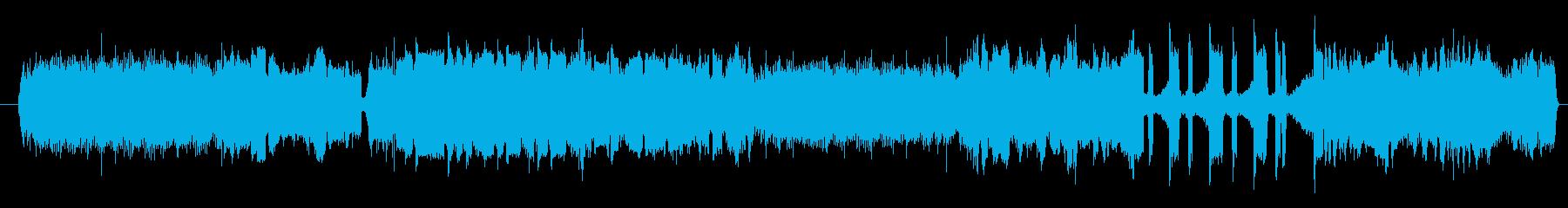 ノイズ デジタルエラーシーケンスH...の再生済みの波形