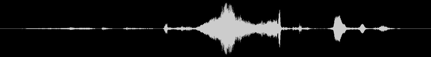 犬 GSP ワインロー06の未再生の波形