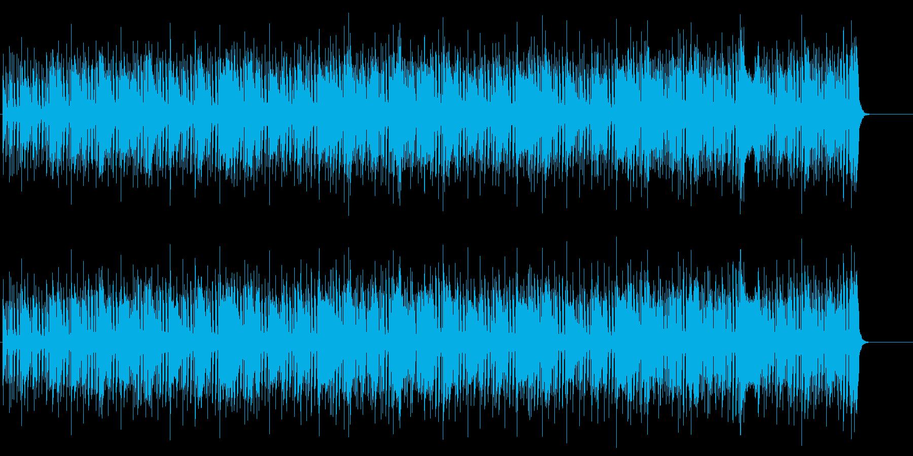 ファンキーな60's風ジャズ/ソウルの再生済みの波形