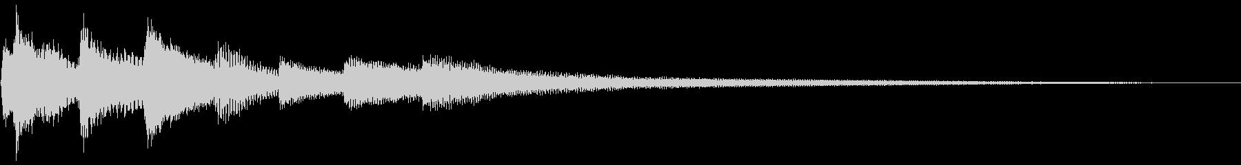 予感の音/ピアノ【1】の未再生の波形
