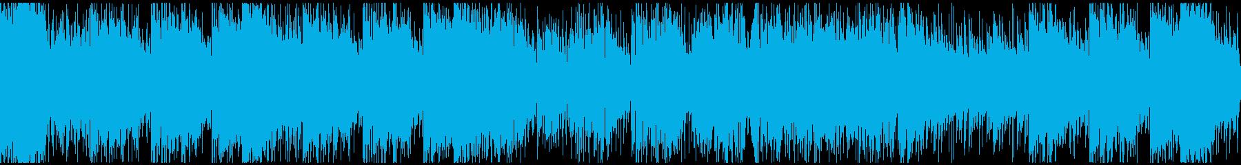 怪盗系ハードボイルドジャズ ※ループ版の再生済みの波形