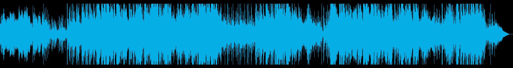 ハープと笛の寂しげで幻想的なケルト風2の再生済みの波形
