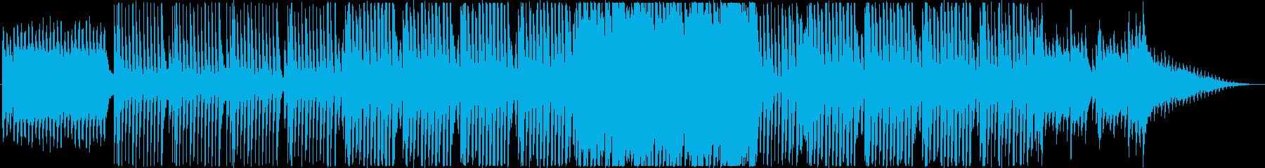 軽やかで可愛らしいクリスマス風BGMの再生済みの波形