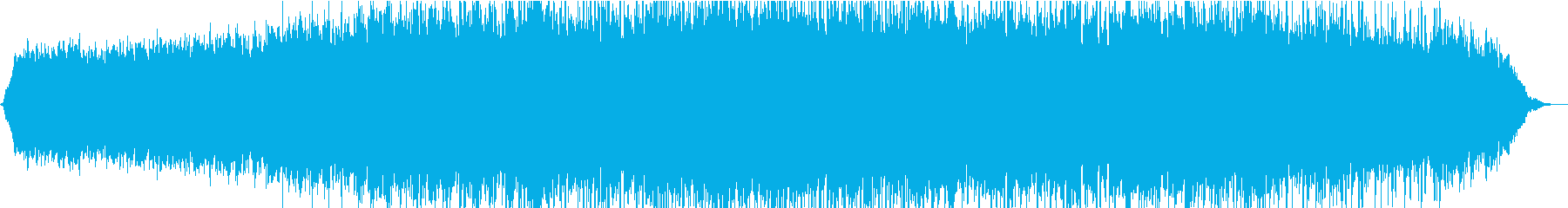 暖かい雰囲気のアンビエント の再生済みの波形