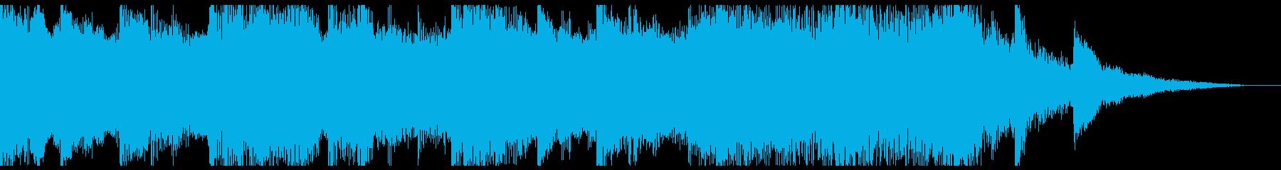 三味線がクールなインスト♪の再生済みの波形