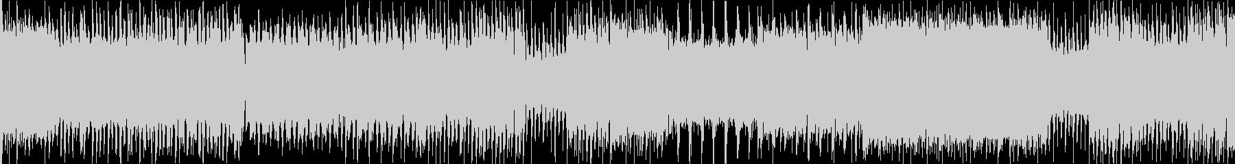ループ用サン=サーンス「死の舞踏」ロックの未再生の波形