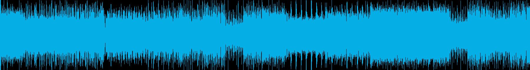 ループ用サン=サーンス「死の舞踏」ロックの再生済みの波形