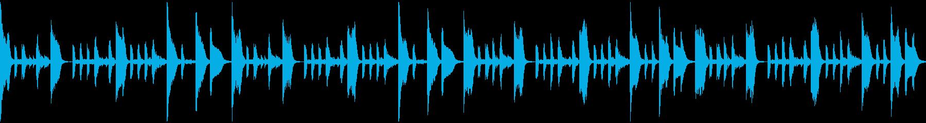 のんびりかわいいエレクトロの再生済みの波形