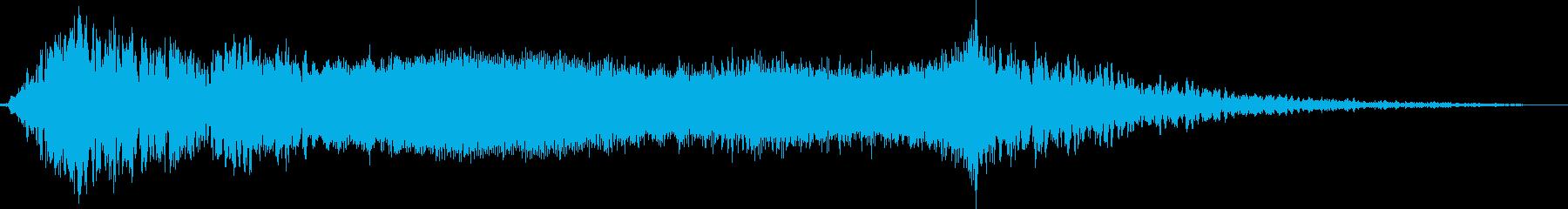 【シネマティック】 RISER HITの再生済みの波形