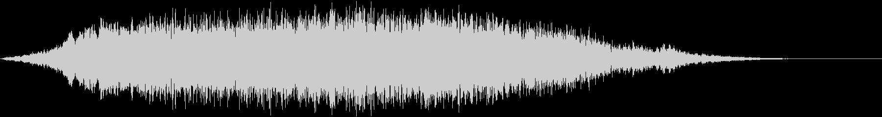 重いシリアスなトーン&シーン_Gの未再生の波形