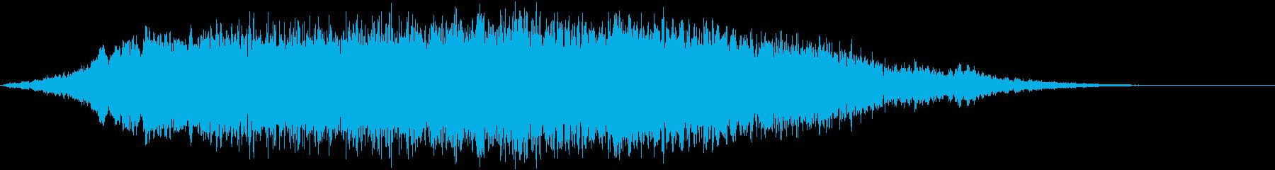 重いシリアスなトーン&シーン_Gの再生済みの波形