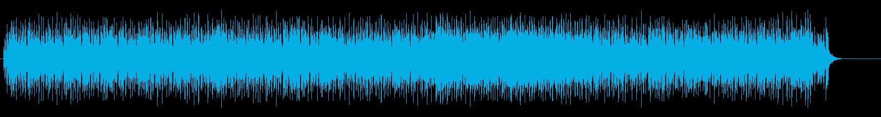 軽快なリズムで心弾むコミカルなポップスの再生済みの波形