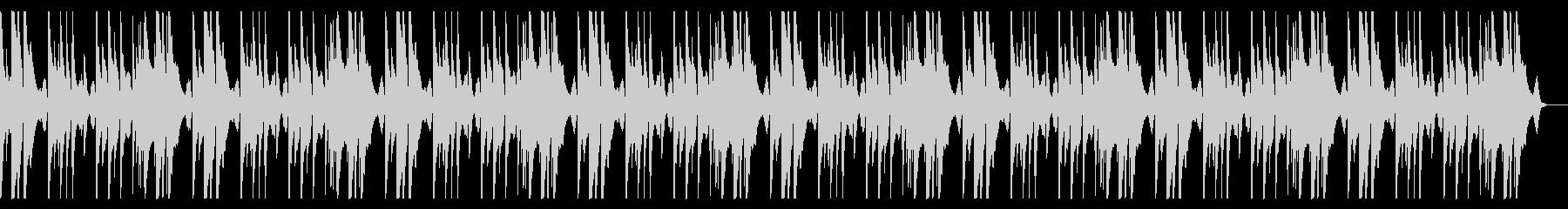 明るく切ないピアノメインのBGMbの未再生の波形