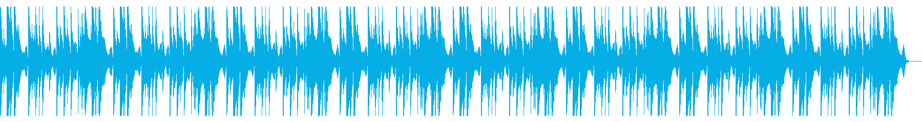 明るく切ないピアノメインのBGMbの再生済みの波形