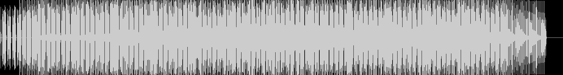 謎めいた感じのミニマムDeepHouseの未再生の波形