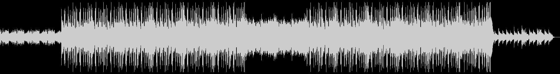 ダーク クール ヒップホップの未再生の波形
