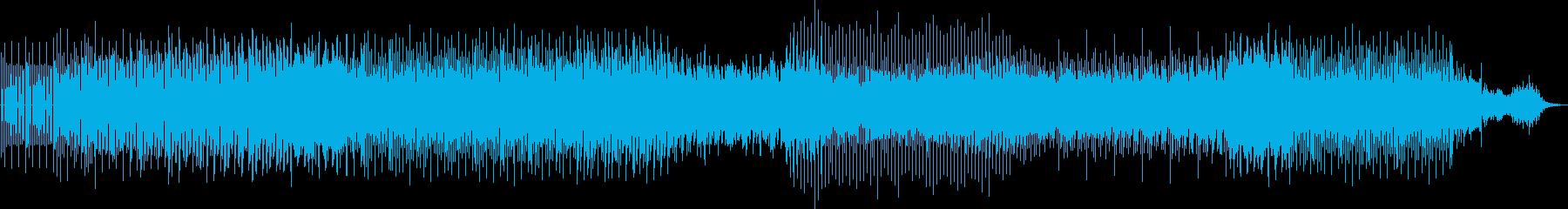 劇伴 陽気なミニマルアシッドテクノの再生済みの波形