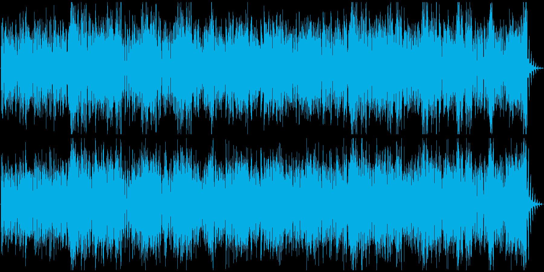 ドラム無/気分上がるエネルギッシュ楽しいの再生済みの波形
