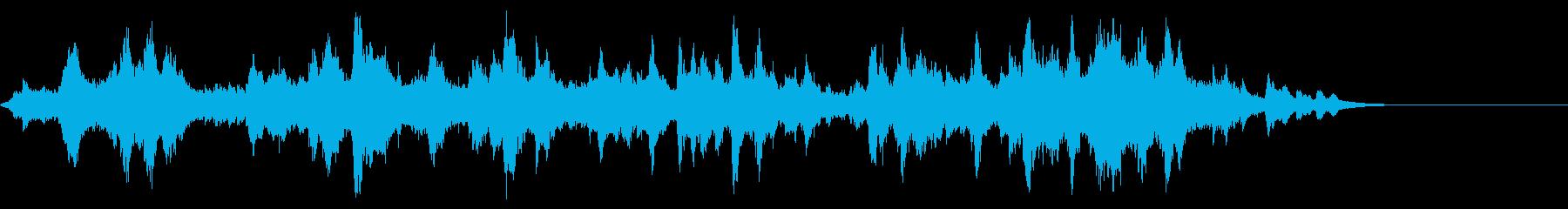 ウインドチャイム 継続 エフェクトの再生済みの波形