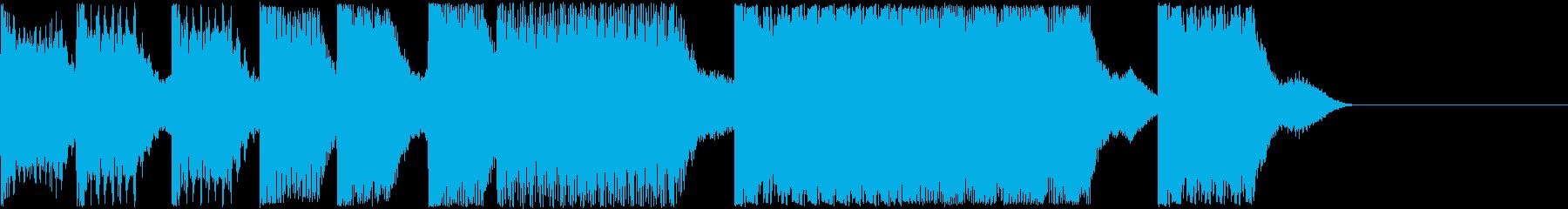 AI メカ/ロボ/マシン動作音 15の再生済みの波形