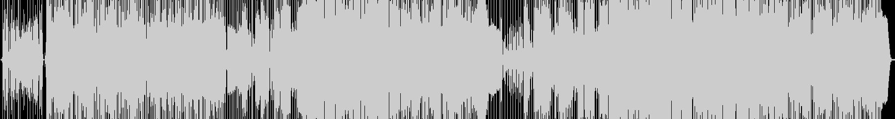 ベーススラップでのロックインストBGMの未再生の波形