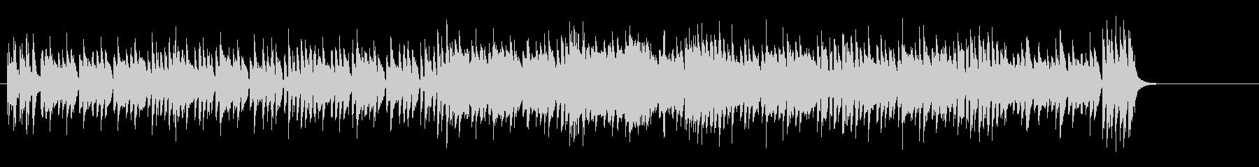 デジタル色の濃いエレクトリック・ポップの未再生の波形