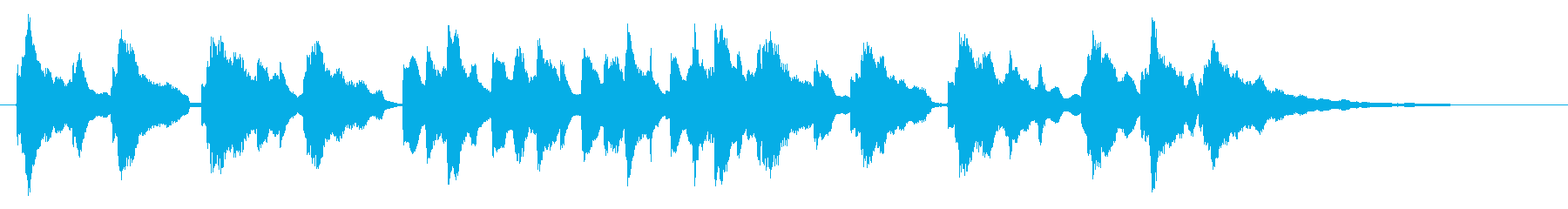 童謡「ぶんぶんぶん」欝アレンジ シンプルの再生済みの波形
