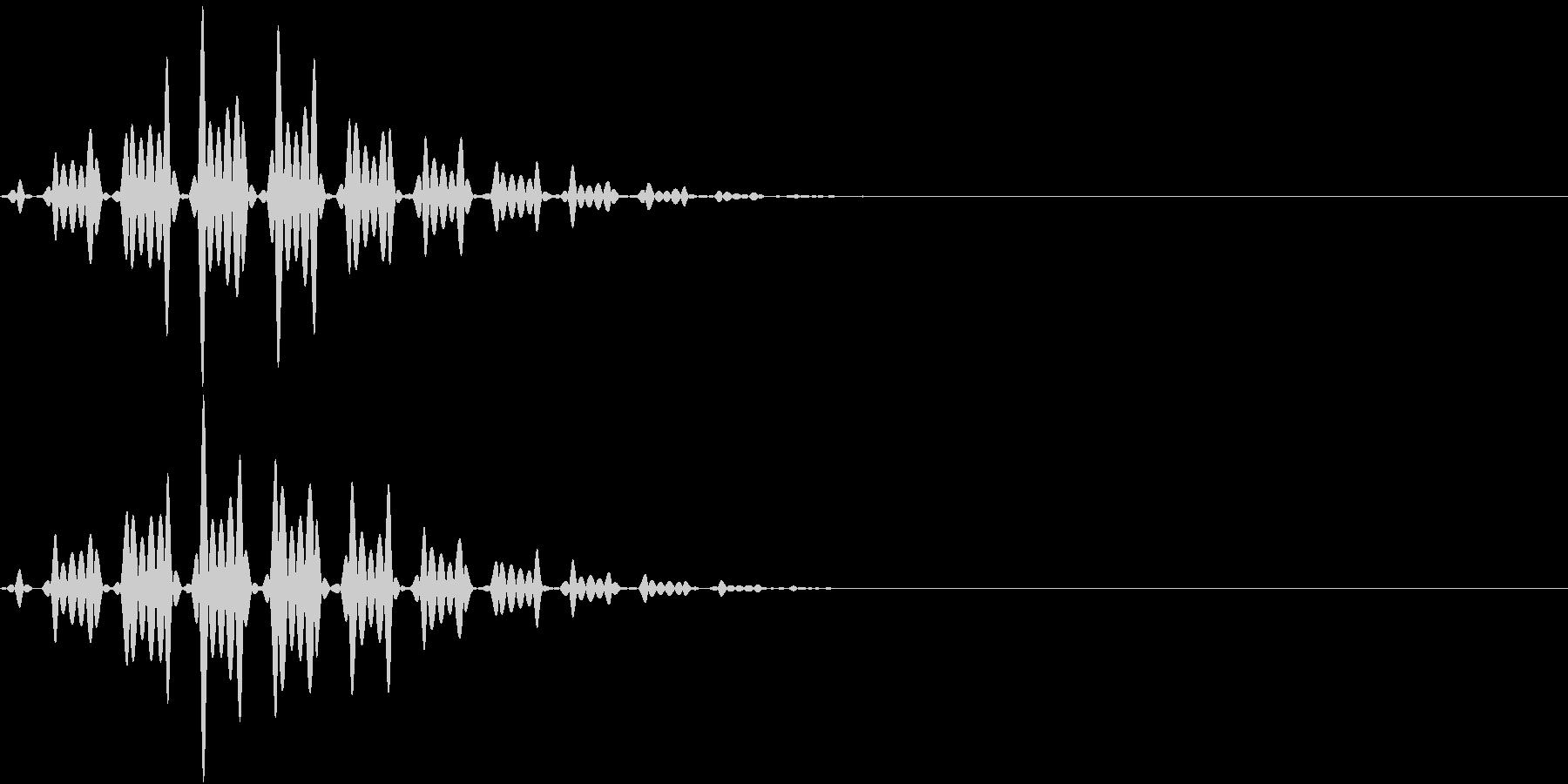 FX 幽霊の効果音 揺れる SE 2の未再生の波形